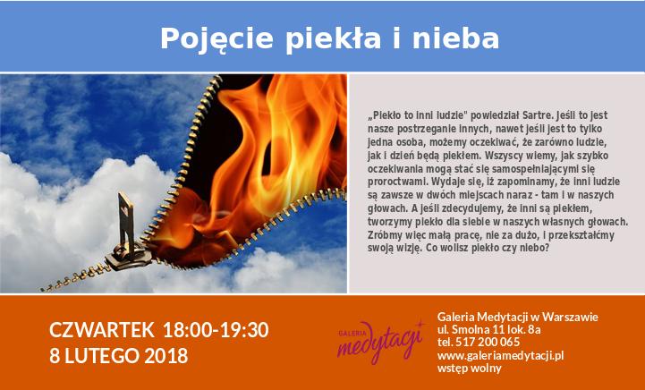 Pojęcie nieba i piekła @ Galeria Medytacji w Warszawie