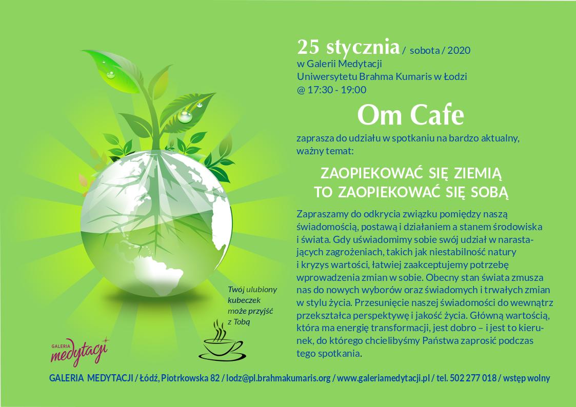 Zaopiekować się Ziemią to zaopiekować się sobą @ Galeria Medytacji w Łodzi