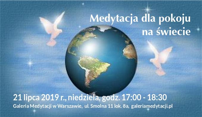 Medytacja dla pokoju na świecie w Warszawie @ Galeria Medytacji w Warszawie
