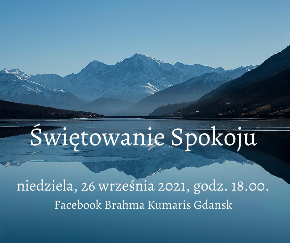 Świętowanie spokoju. Spotkanie online. FB Brahmakumaris Gdańsk @ wydarzenie online