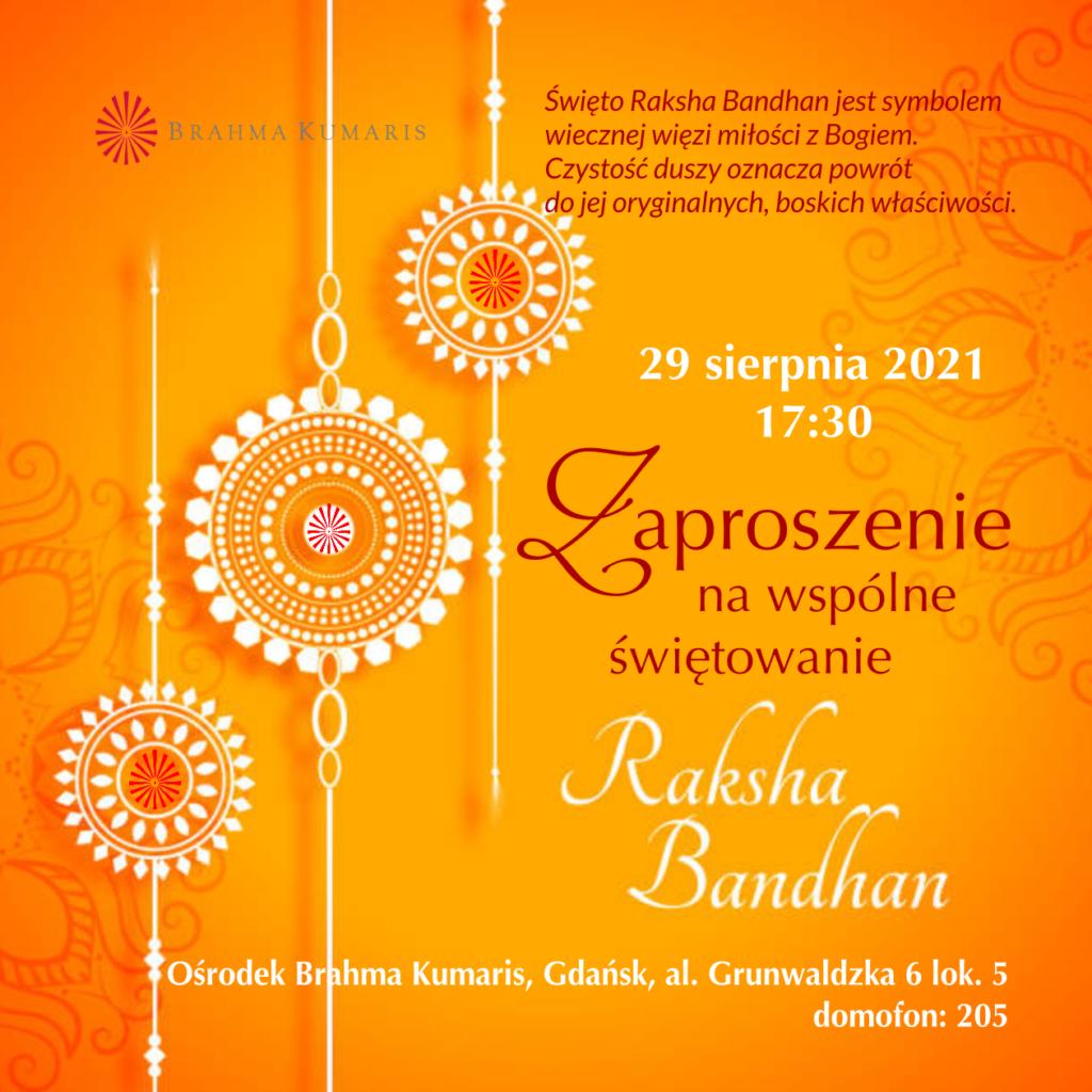 Świętowanie Raksha Bandhan w Gdańsku @ Ośrodek Brahma Kumaris w Gdańsku